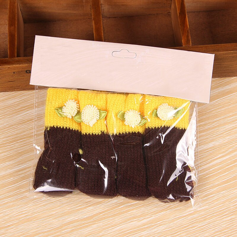 4Pcs Chair Leg Socks