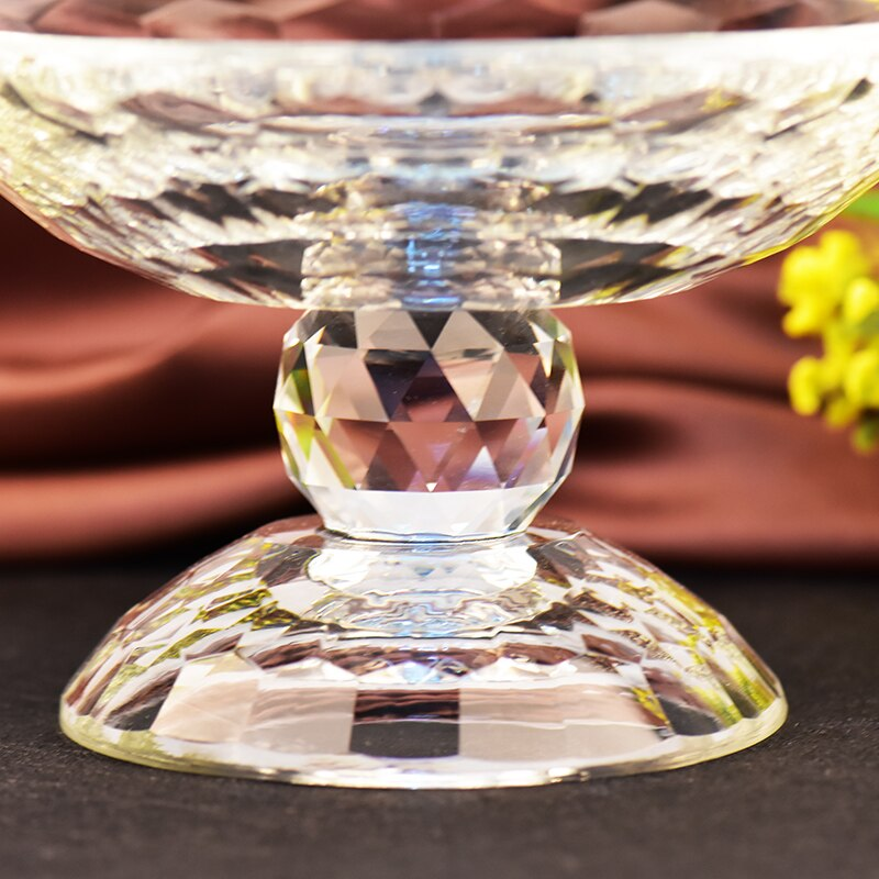 Crystal Glass Fruit Plate