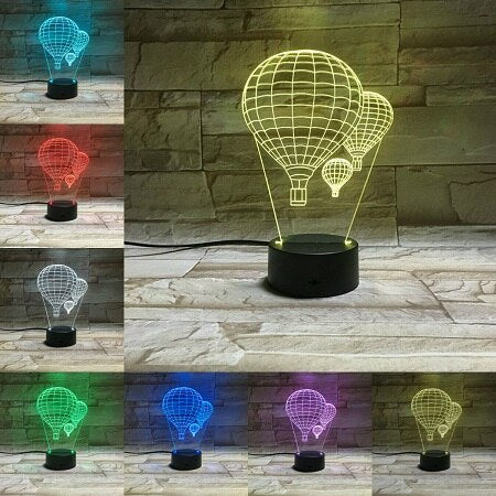 Night Light Lampa Bedroom Decora
