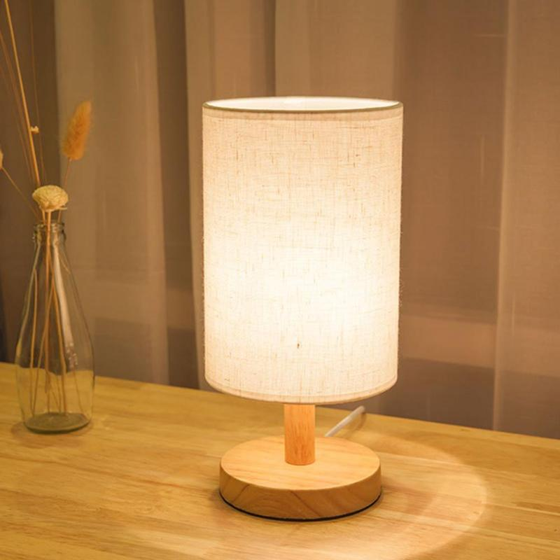 E27 Modern Vintage Lamp Shade Table Desk Bed Light Cover Holder Lampshades Bedside Home Decoration Desk Lamp