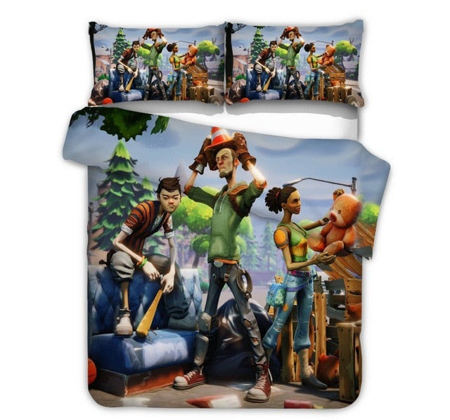 boys bedding set 2 pcs printed duvet cover single twin size girl boy bed set