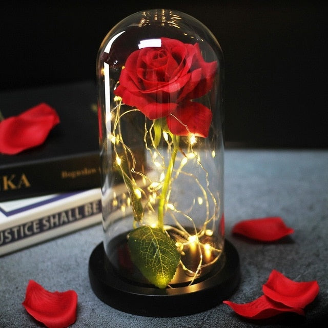 Eternal Rose Led Night Lamp