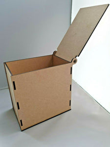 Laser Cut MDF Seed Box - assemble decorate your box, craft, decoupage,pyrography - Sawfish Laser