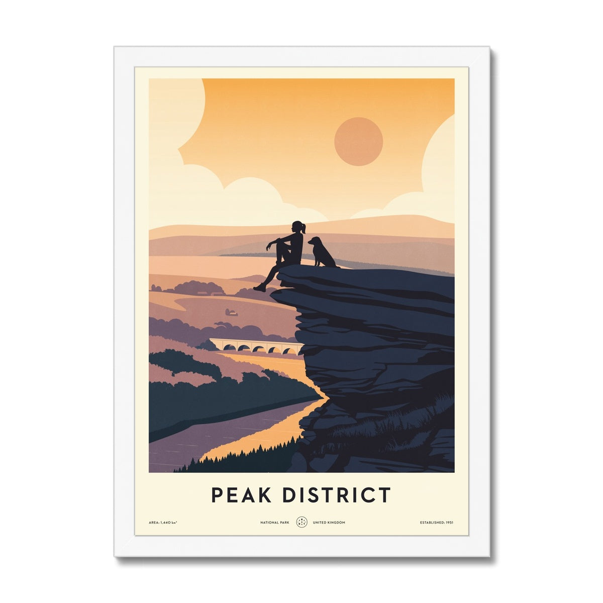 Peak District National Park Framed Print