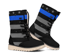 Load image into Gallery viewer, Thin Blue Line Polar Boots
