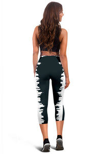 Cute City Girl Women's Capris Leggings