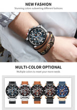 Load image into Gallery viewer, CURREN Watch Chronograph Sport Mens Watches Quartz Clock - keitshop