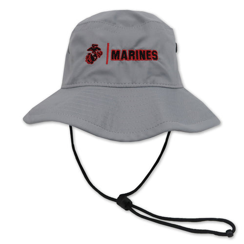 MARINES COOL FIT PERFORMANCE BOONIE (GREY)