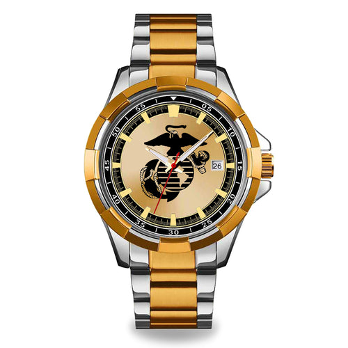 Marines EGA Two Tone Watch (silver /gold)