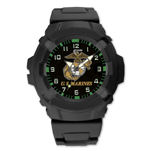 Marines Model 24 Series Watch Black