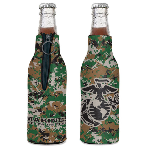 U.S. Marines EGA Bottle Cooler (Camo)
