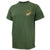 USMC EGA Logo USA Made T-Shirt (OD Green)