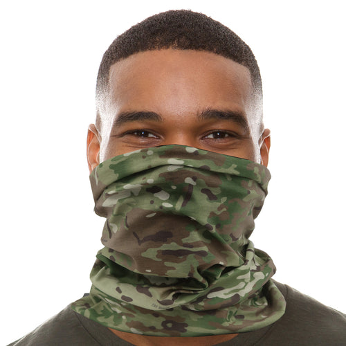 NECK GAITER/FACE COVER (MULTI CAM)
