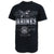 United States Marines Silver T-Shirt (Black)
