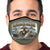 U.S. Marines Action Face Mask (OD Green)