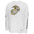 Marines Under Armour Gameday Fade Long Sleeve T-Shirt (White)