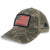FOLDS OF HONOR USA FLAG LOW PROFILE TWILL TRUCKER HAT (CAMO) 3