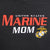 UNITED STATES MARINE MOM HOOD (HEATHER BLACK)