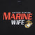 Ladies United States Marine Wife T-Shirt (Black)