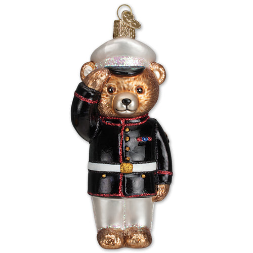 MARINE BEAR ORNAMENT