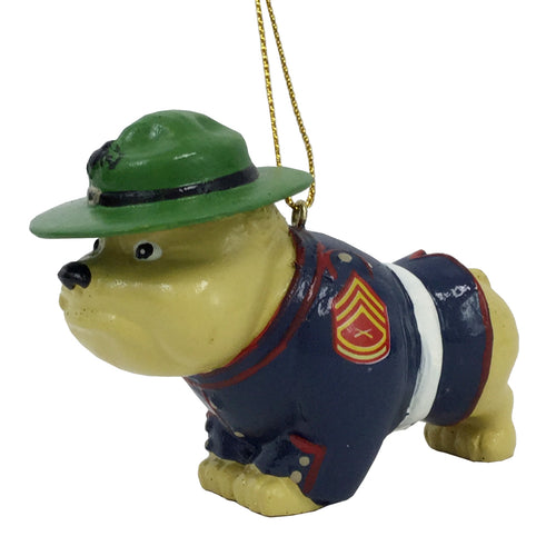 MARINE CORPS BULLDOG ORNAMENT 1