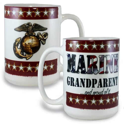 MARINE GRANDPARENT COFFEE MUG 4