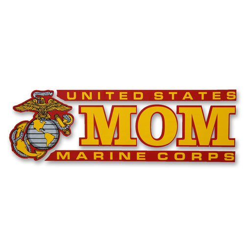 MARINE MOM DECAL 1