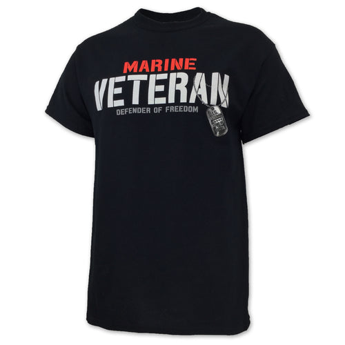 MARINE VETERAN DEFENDER T-SHIRT (BLACK) 3