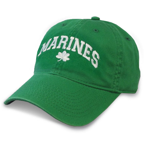 MARINES ARCH SHAMROCK HAT 1