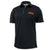 MARINES ARCH UNDER ARMOUR PERFORMANCE POLO (BLACK)