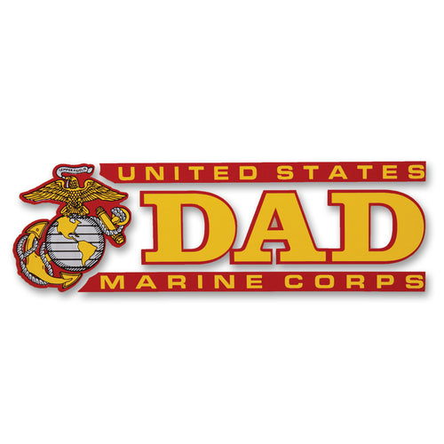 MARINES DAD DECAL 1