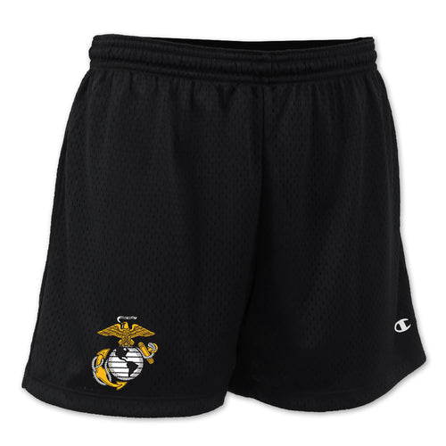 MARINES EGA LADIES MESH SHORT