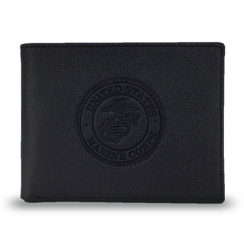 MARINES EMBOSSED BIFOLD WALLET 5