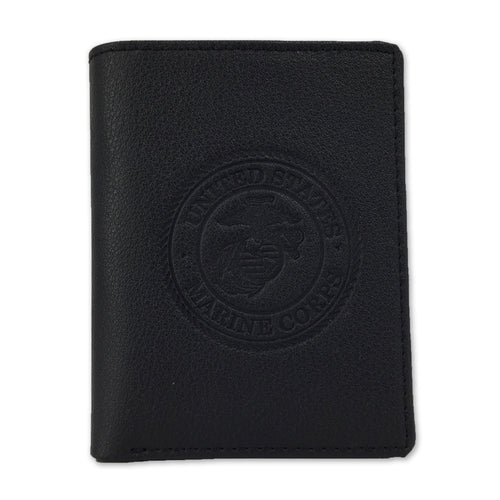 MARINES EMBOSSED TRIFOLD WALLET 4