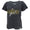 MARINES GIRL LADIES LOOSE FIT V-NECK T-SHIRT (BLACK) 1