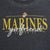 MARINES GIRLFRIEND LADIES 3/4 SLEEVE T-SHIRT (BLACK) 2
