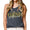 MARINES GIRLFRIEND LADIES RACERBACK TANK (BLACK) 2