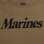 MARINES LADIES LOGO CORE T-SHIRT (COYOTE BROWN)