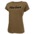 MARINES LADIES LOGO CORE T-SHIRT (COYOTE BROWN) 1