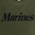 MARINES LADIES LOGO CORE T-SHIRT (OD GREEN) 1