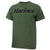 Marines Logo Core USA Made T-Shirt (OD Green)