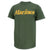 MARINES LOGO CORE T-SHIRT (OD GREEN/GOLD) 3