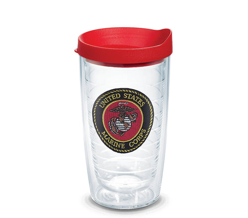 MARINES SEAL 16OZ TERVIS TUMBLER