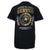 MARINES METAL EMBLEMS T-SHIRT (BLACK) 6