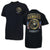 MARINES METAL EMBLEMS T-SHIRT (BLACK)