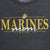 MARINES MOM LADIES 3/4 SLEEVE T-SHIRT (BLACK)
