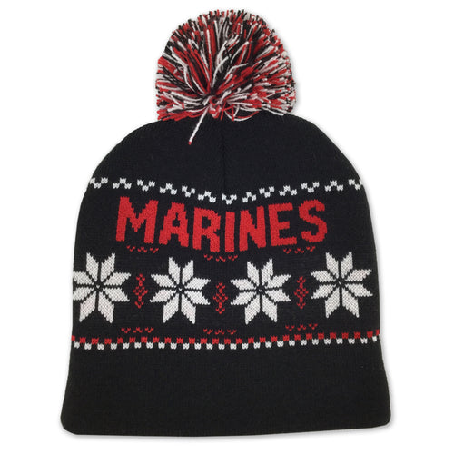 MARINES OLD SCHOOL ALPINE BEANIE