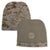 MARINES REVERSIBLE BEANIE (TAN) 3