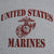 MARINES SEAL T-SHIRT (GREY) 1