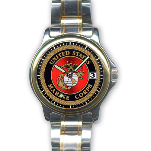 MARINES STAINLESS WATCH (SILVER) 1